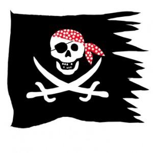 Die Schnitzelgeneration 2009... im Gegensatz zu Piraten alter Schule, die noch wußten wie man Knochen und Säbel kreuzt!