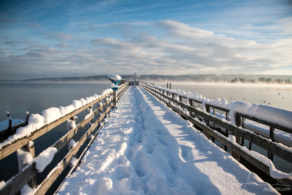 Ammersee im Winter
