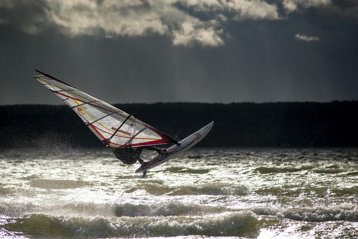 Windsurfen auf dem Ammersee
