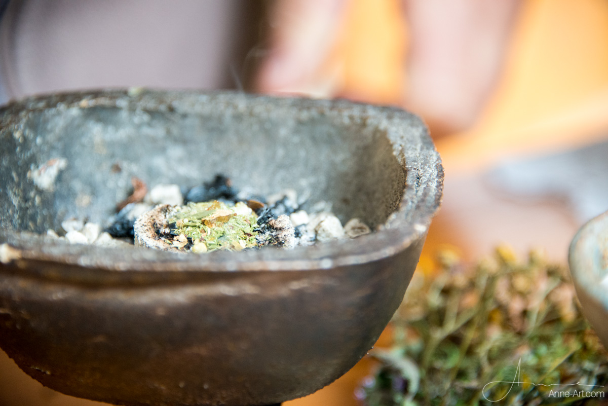 Kräuter Rauch